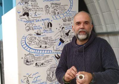 Presentación Jorge Martín, Ilustrador, Agés