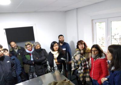 Visita de futuros emprendedor@s. Lacteos Valparaiso. Villaspasa