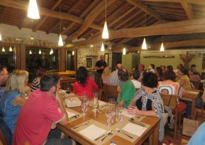 Visita de futuros emprendedor@s. Restaurante Comosapiens. Atapuerca