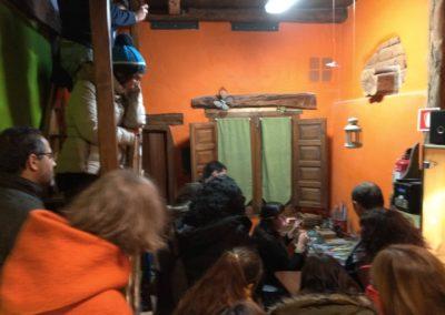 Visita de futuros emprendedor@s. Joyería artesanal El Roble Azul, Covarrubias.